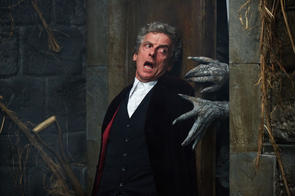 Picture shows: Peter Capaldi as the Doctor - (C) BBC - Photographer: Simon Ridgway