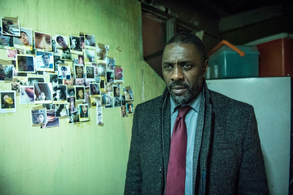 Picture Shows:  DCI John Luther (IDRIS ELBA) - (C) BBC - Photographer: Steffan Hill