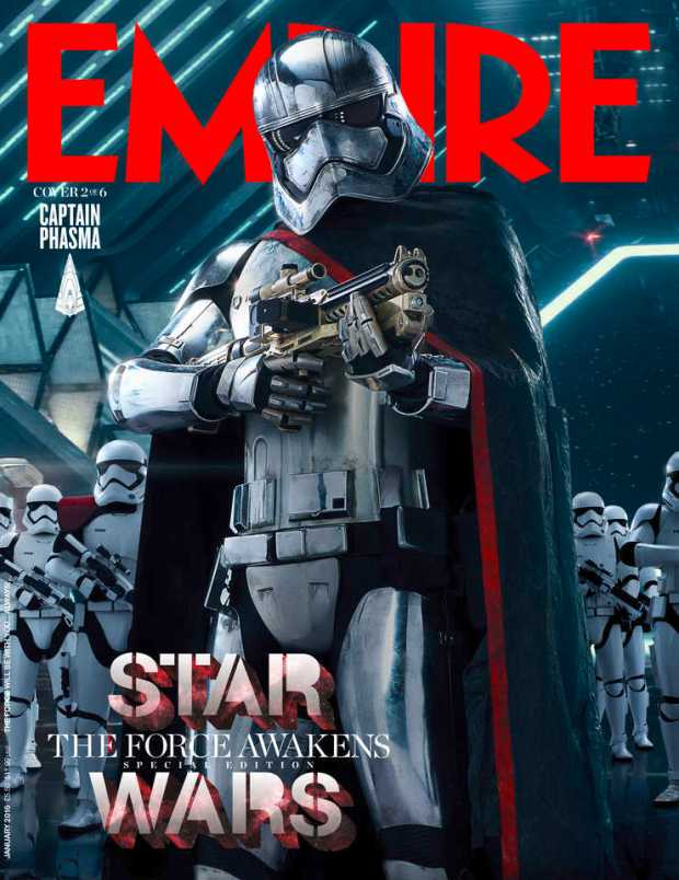 Star Wars_The Force Awakens_Empire Cover_Phasma