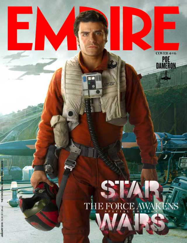 Star Wars_The Force Awakens_Empire Cover_Poe Dameron