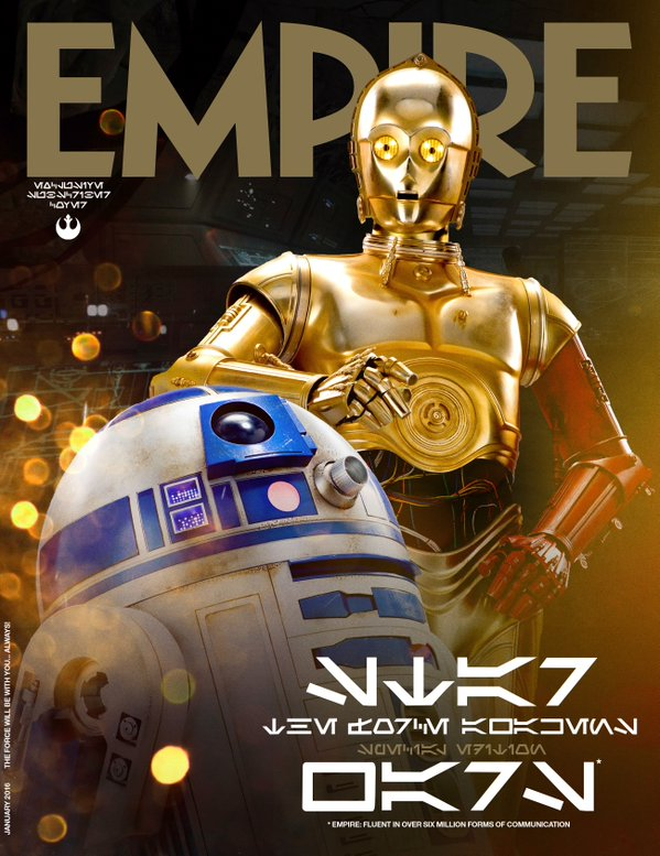 Star Wars_The Force Awakens_Empire Cover_R2D2 and C3PO