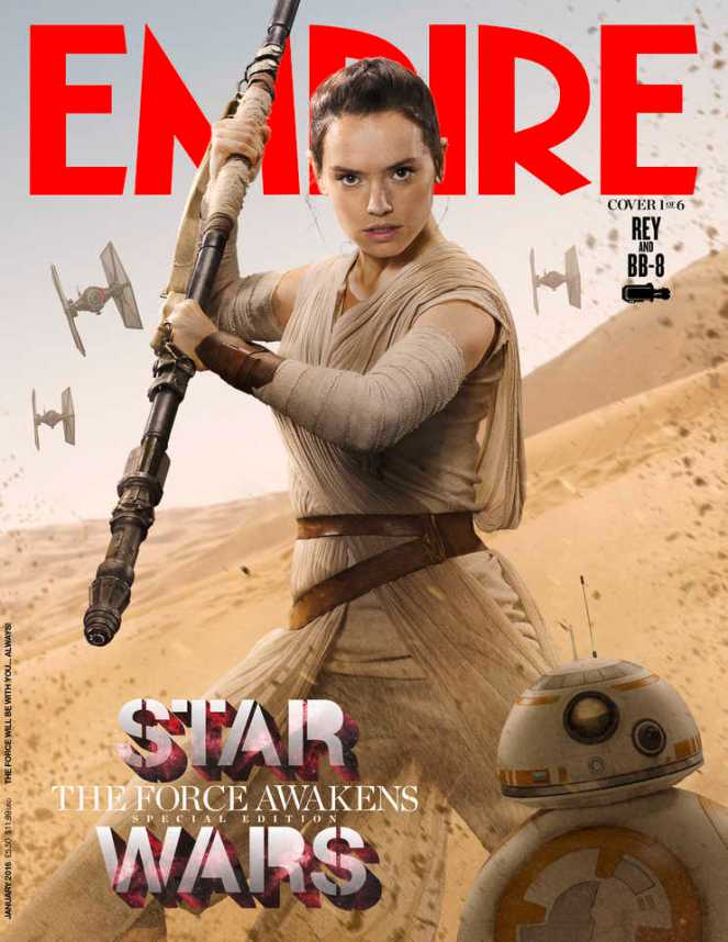 Star Wars_The Force Awakens_Empire Cover_Rey
