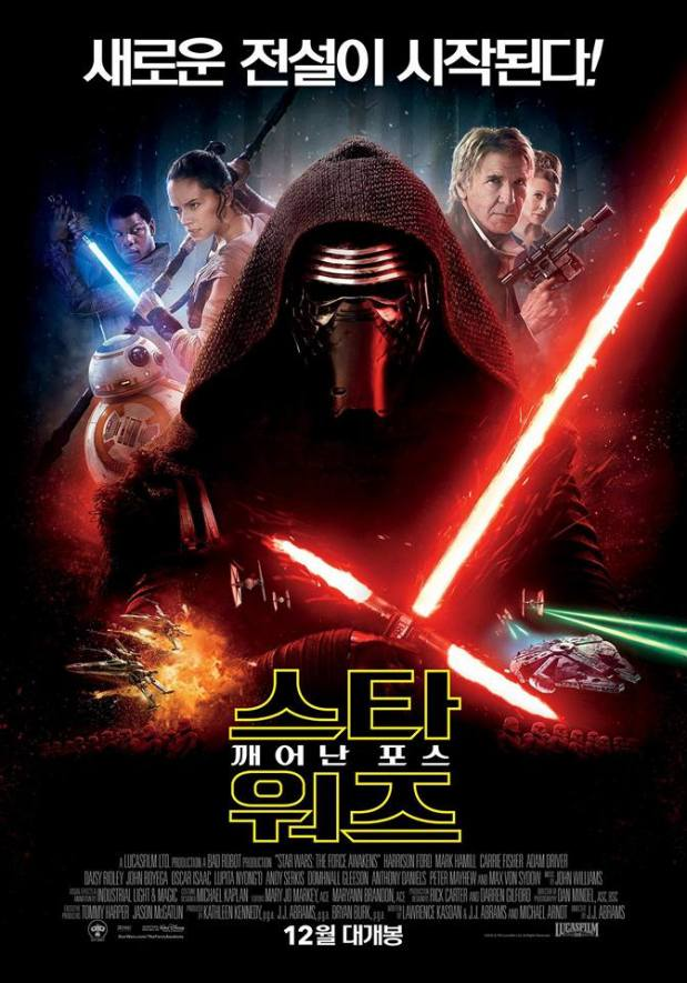 Star Wars_The Force Awakens_International Poster