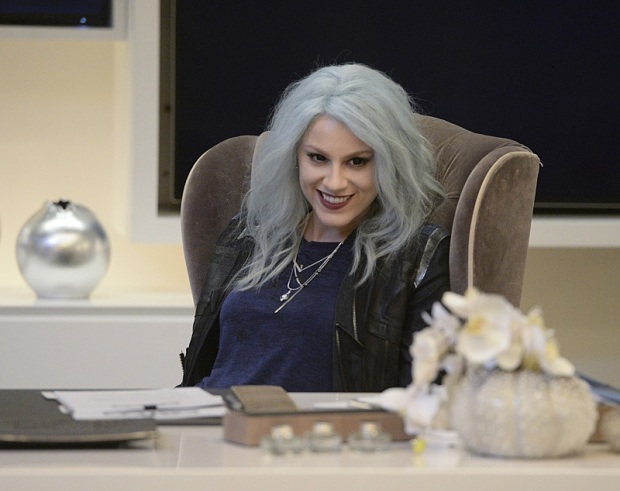 """Livewire"" -- When an accident transforms a volatile CatCo employee into the villainous Livewire (Brit Morgan, pictured), she targets Cat and Supergirl, on SUPERGIRL, Monday, Nov. 23 (8:00-9:00 PM, ET/PT) on the CBS Television Network. Photo: Darren Michaels/Warner Bros. Entertainment Inc. © 2015 WBEI. All rights reserved."