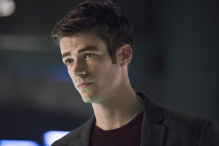 """The Flash -- """"Legends of Today"""" -- Image FLA208B_0174b.jpg -- Pictured: Grant Gustin as Barry Allen -- Photo: Cate Cameron /The CW -- © 2015 The CW Network, LLC. All rights reserved."""