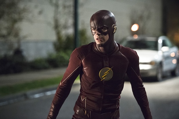 """The Flash -- """"Legends of Today"""" -- Image FLA208B_0329b.jpg -- Pictured: Grant Gustin as The Flash -- Photo: Cate Cameron/The CW -- © 2015 The CW Network, LLC. All rights reserved."""