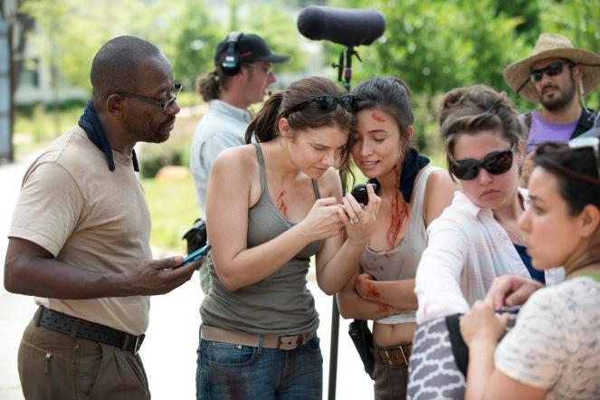 The Walking Dead Season 6 Bts Stills From Episode 5