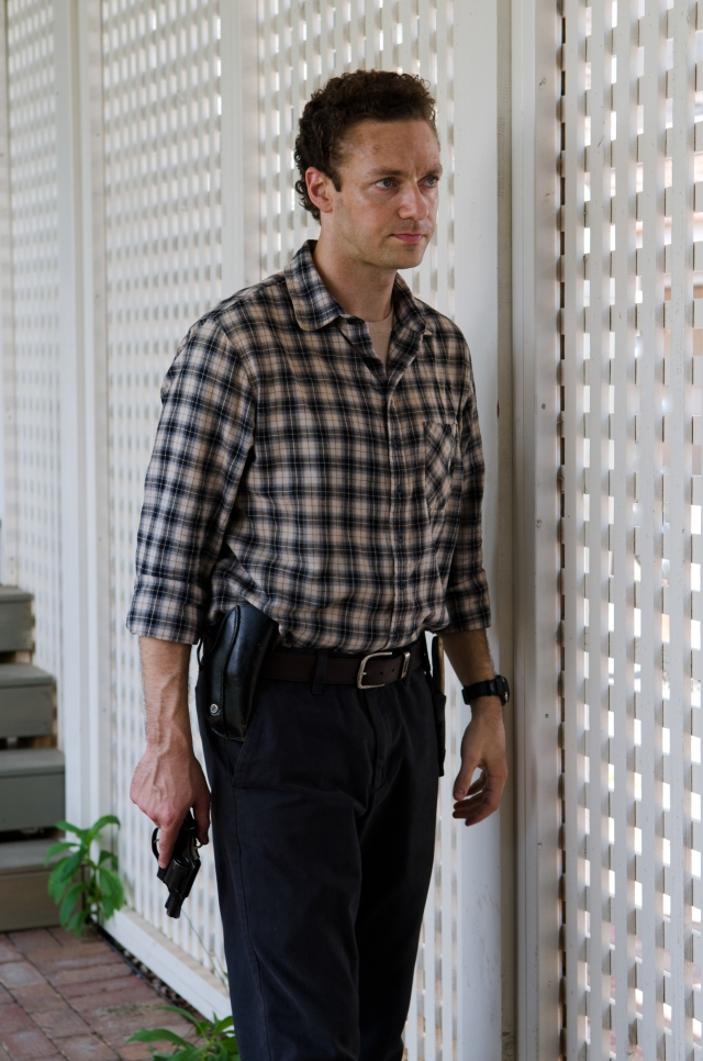 Ross Marquand as Aaron - The Walking Dead _ Season 6, Episode 8 - Photo Credit: Gene Page/AMC