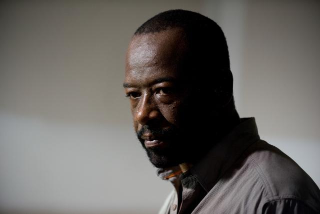 Lennie James as Morgan Jones - The Walking Dead _ Season 6, Episode 8 - Photo Credit: Gene Page/AMC