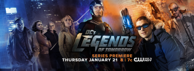 DC's Legends of Tomorrow_Banner