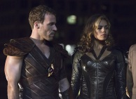 "DC's Legends of Tomorrow -- ""Pilot, Part 1"" -- Image LGN101d_0180b -- Pictured (L-R): Falk Hentschel as Carter Hall/Hawkman and Ciara Renee as Kendra Saunders/Hawkgirl -- Photo: Jeff Weddell/The CW -- © 2015 The CW Network, LLC. All Rights Reserved."