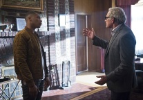 "DC's Legends of Tomorrow -- ""Pilot, Part 1"" -- Image LGN101-20150922_0012b -- Pictured (L-R): Franz Drameh as Jefferson ""Jax"" Jackson and Victor Garber as Professor Martin Stein -- Photo: Diyah Pera/The CW -- © 2015 The CW Network, LLC. All Rights Reserved."