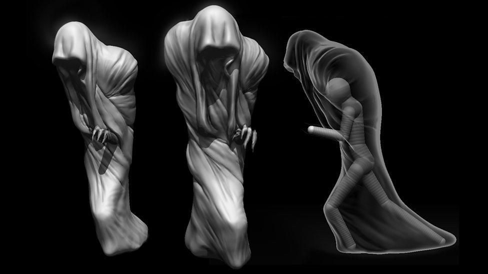 Concept art – the Veil.