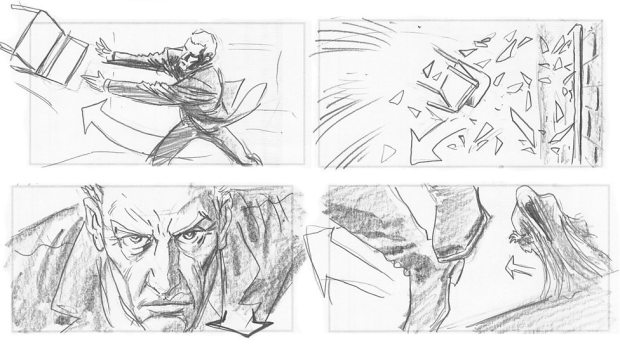 Doctor Who_S09E11_Heaven Sent_Storyboards (6)