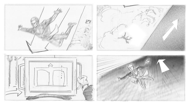 Doctor Who_S09E11_Heaven Sent_Storyboards