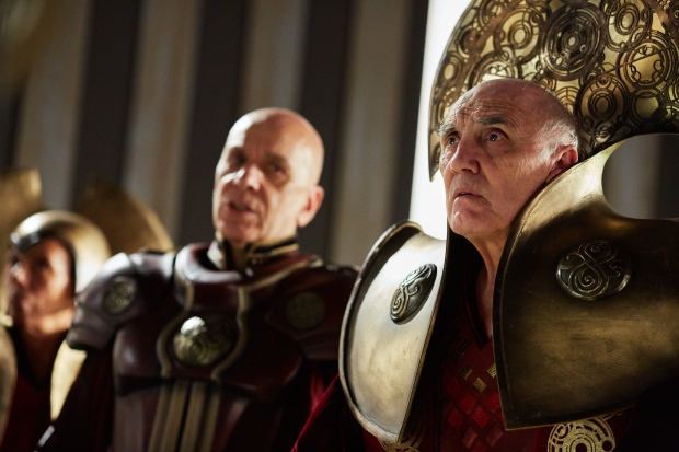 Picture shows: Ken Bones as the General and Donald Sumpter as the Presidend
