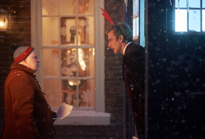 Picture shows: Peter Capaldi as the Doctor and Matt Lucas Nardole (Matt Lucas) - (C) BBC - Photographer: Simon Ridgway