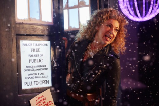 Picture Shows: River Song (ALEX KINGSTON) - (C) BBC   - Photographer: Jon Hall