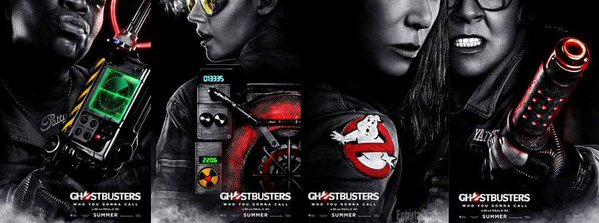 Ghostbusters_Character Poster