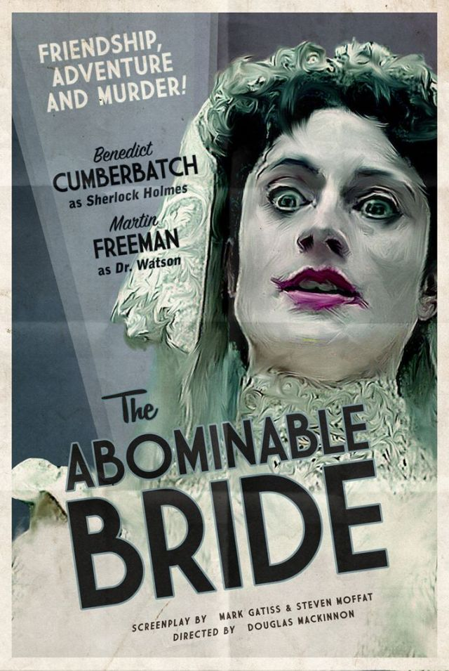 Sherlock_The Abominable Bride_Poster_By Coleman Design