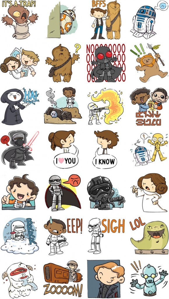 Star-Wars-The-Force-Awakens-Facebook-stickers