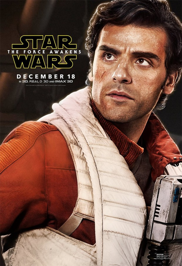 Star Wars_The Force Awakens_Character Poster_Poe Dameron