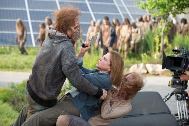 Tovah Feldshuh as Deanna - The Walking Dead _ Season 6, Episode 8 - Photo Credit: Gene Page/AMC
