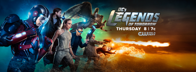 DC's Legends Of Tomorrow_Season 1 Banner