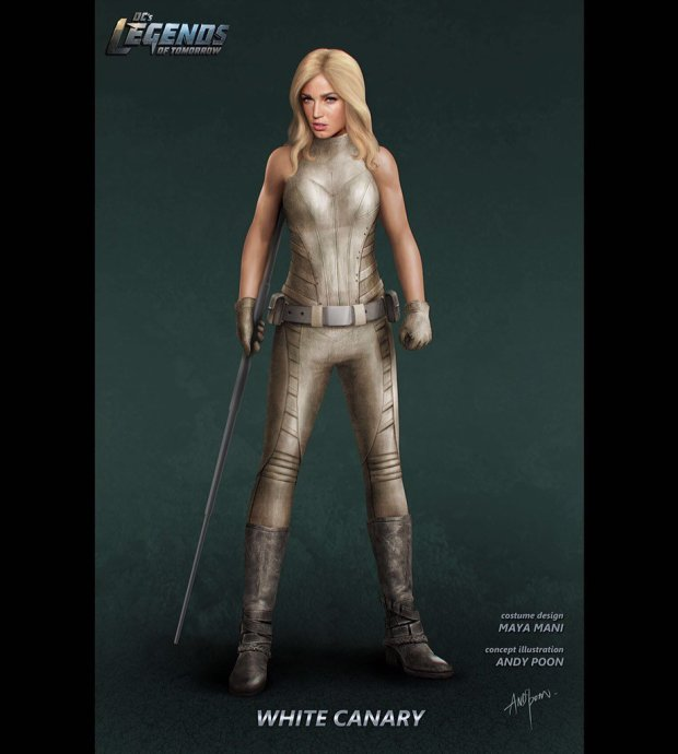 Legends of Tomorrow_Concept art_White Canary