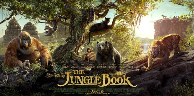 The Jungle Book_ triptych poster