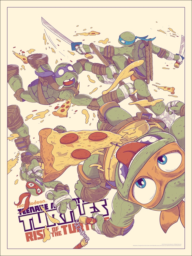 TMNT_Rise of the Turtles by JJ Harrison