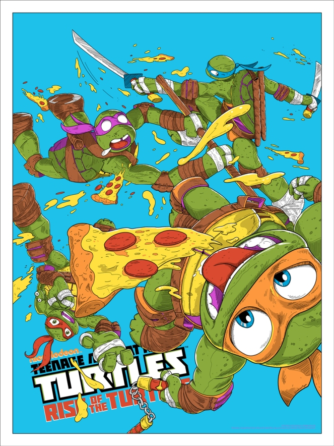 TMNT_Rise of the Turtles (Variant) by JJ Harrison