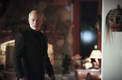 "Arrow -- ""Taken"" -- Image AR415A_0018b.jpg -- Pictured: Neal McDonough as Damien Darhk -- Photo: Bettina Strauss/ The CW -- © 2016 The CW Network, LLC. All Rights Reserved."