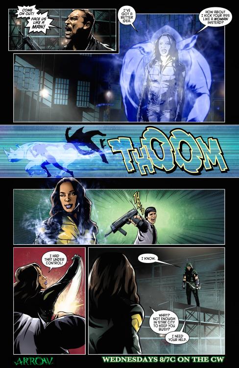 Arrow_Season 4_Taken Comic Preview