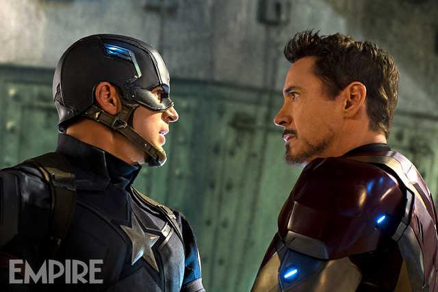 Captain America_Civil War_Cap and Iron Man