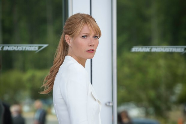 """Marvel's Iron Man 3"" Pepper Potts (Gwyneth Paltrow) Ph: Zade Rosenthal © 2012 MVLFFLLC. TM & © 2012 Marvel. All Rights Reserved."