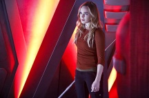 """DC's Legends of Tomorrow -- """"Marooned"""" -- Image LGN107A_0196b.jpg -- Pictured: Caity Lotz as Sara Lance/White Canary -- Photo: Bettina Strauss/The CW -- © 2016 The CW Network, LLC. All Rights Reserved."""