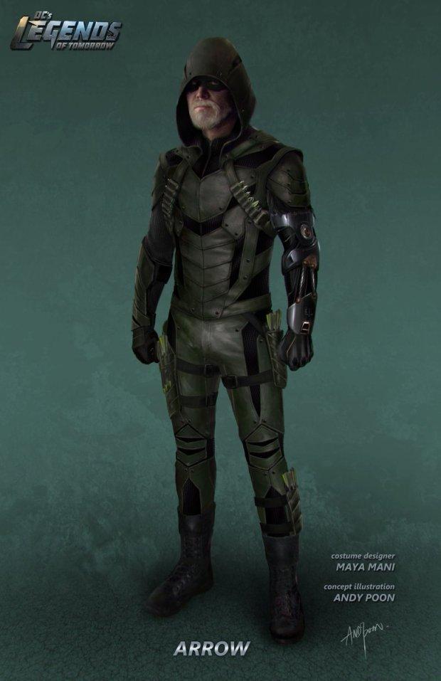 Legends of Tomorrow_S02_Green Arrow_Concept Art