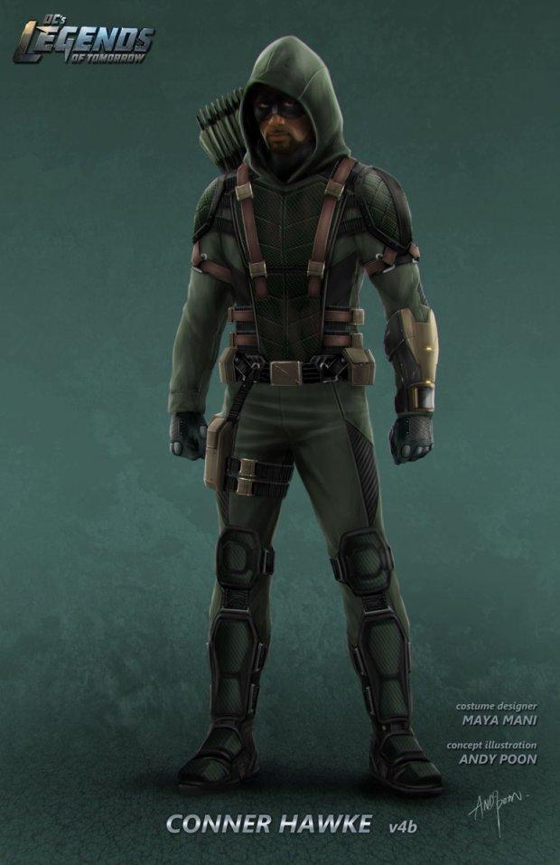 Legends of Tomorrow_S02_Green Connor Hawke_Concept Art