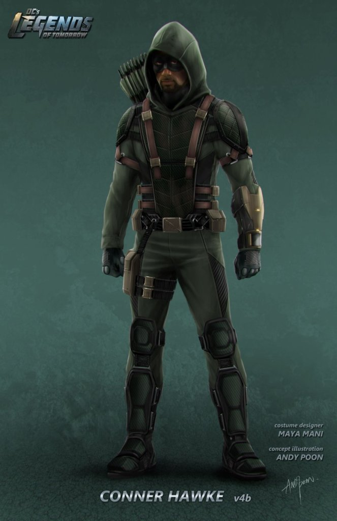 Legends of Tomorrow_S02_Green Connor Hawke_Concept Art