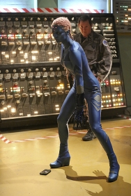 """""""Solitude"""" -- Kara travels to Superman's Fortress of Solitude in hopes of learning how to defeat Indigo (Laura Vandervoort, pictured), a dangerous being who can transport via the Internet and who has a connection to Kara's past, on SUPERGIRL, Monday, Feb. 29 (8:00-9:00 PM, ET/PT) on the CBS Television Network. Photo: Michael Yarish/CBS ©2016 CBS Broadcasting, Inc. All Rights Reserved"""