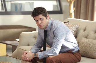 """Falling"" -- Cat appears on THE TALK to discuss Supergirl, on SUPERGIRL, Monday, March 14 (8:00-9:00 PM, ET/PT) on the CBS Television Network. Picturedt: Jeremy Jordan Photo: Michael Yarish/CBS ©2016 CBS Broadcasting, Inc. All Rights Reserved"
