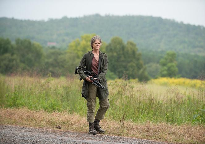 Carol Peletier (Melissa McBride) in Episode 12 (Photo by Gene Page/AMC)