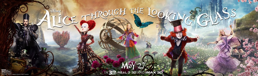 Alice Through the Looking Glass_Banner