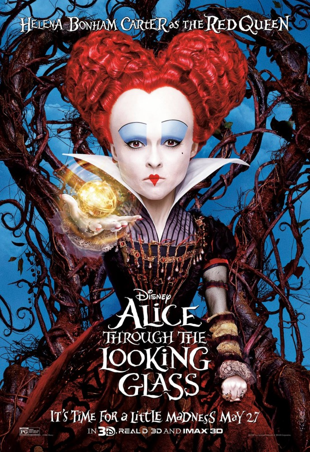 Alice Through the Looking Glass_Character Poster