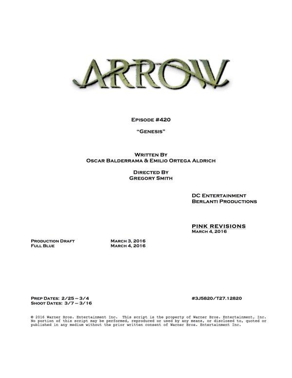 Arrow_S04E20_Title and Credits