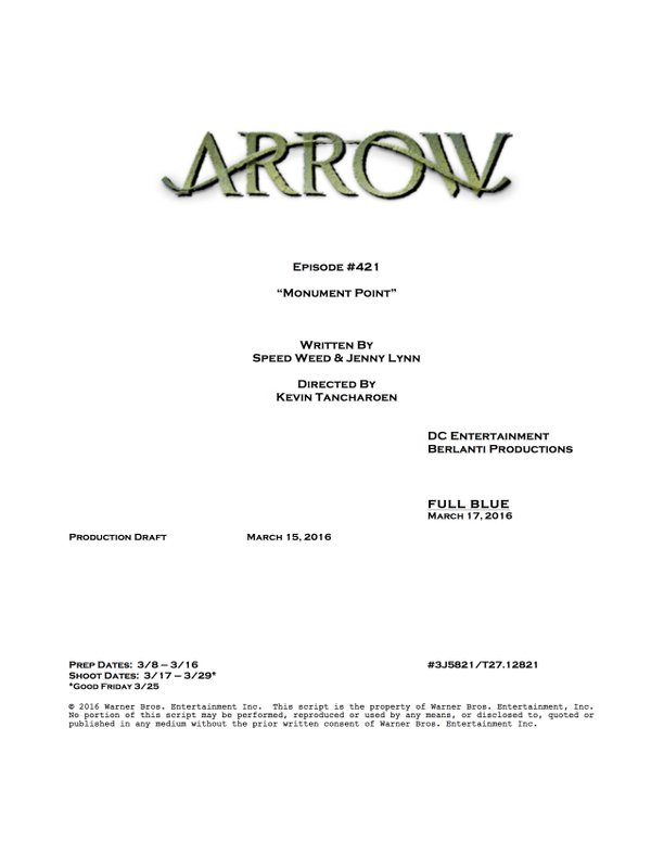Arrow_S04E21_Monument Point_Title and Credits