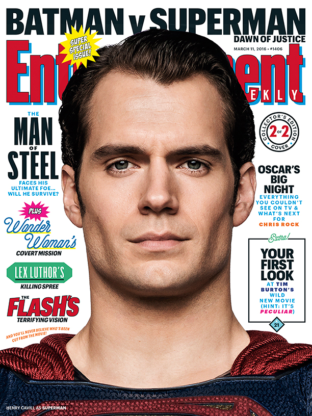 Batman v Superman_Dawn of Justice_EW Cover_Henry Cavill