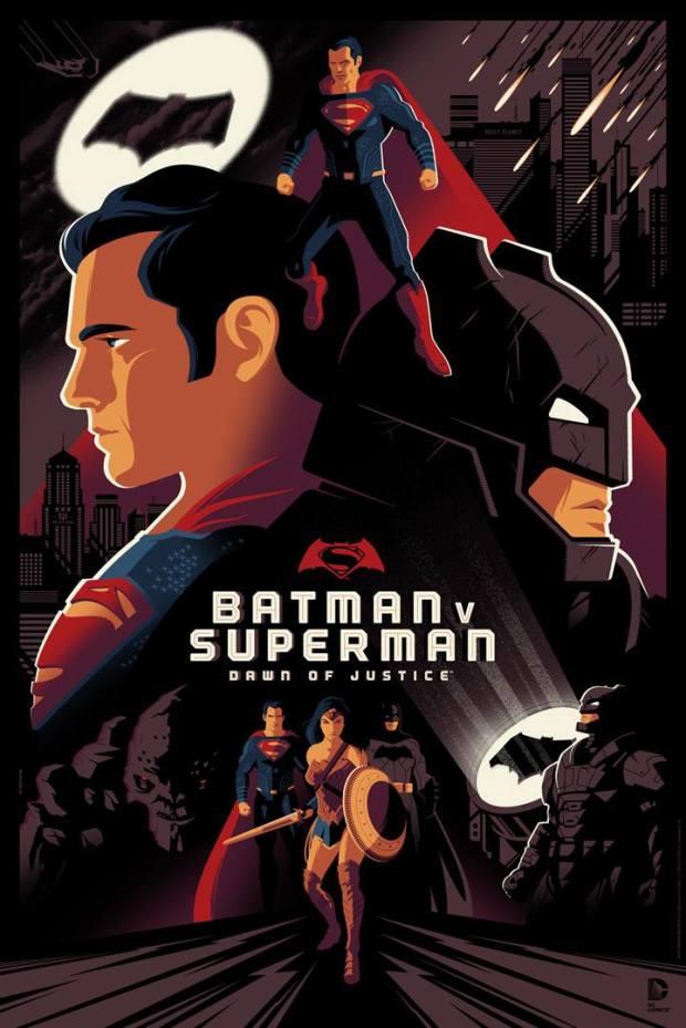 Batman v Superman_Dawn of Justice_Standard Edition_Tom Whalen