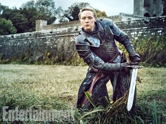"Gwendoline Christie as Brienne of Tarth ""Brienne is so unique and unconventional and so strong, and I love the writing hasn't allowed her to just rest there,"" says Christie. (Image Credit: MARC HOM for EW)"